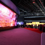 LG had a massive 3D wall at CES.