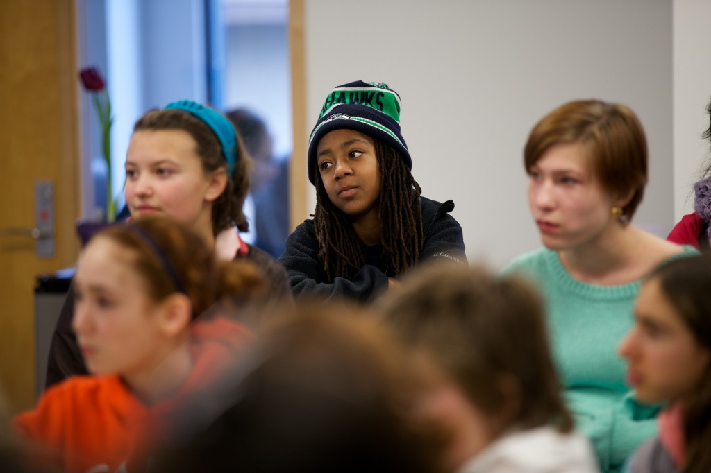 Photo via Leslie McDaniel, Seattle Girls School.