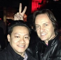 The photo that got T-Mobile CEO John Legere booted from the AT&T party