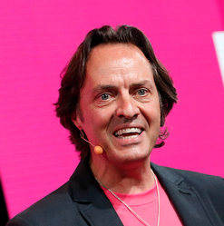 T-Mobile CEO John Legere.