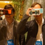 Poppy co-founders Joe Heitzeberg and Ethan Lowry at CES back in January.