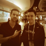 Taylor's CES celebrity moment with Seattle's own Ryan Lewis.