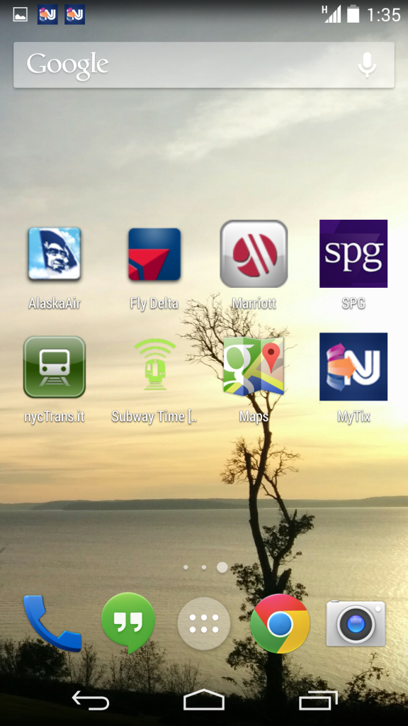 Apps for a paperless trip