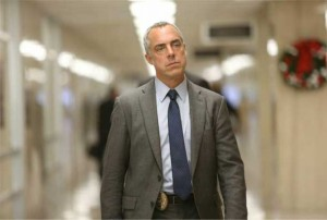 Titus Welliver playing the role of Detective Harry Bosch