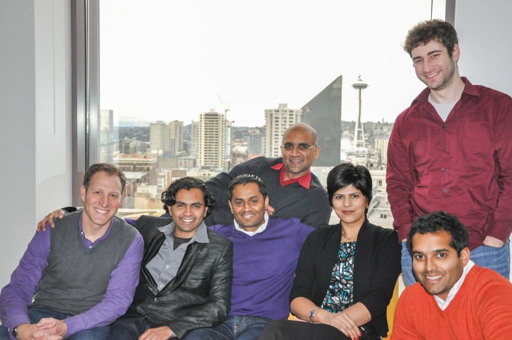 The Indix team at the Seattle office.