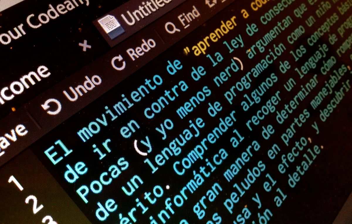 Learn to code? No: Learn a real language