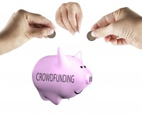 Crowdfunding image via Shutterstock