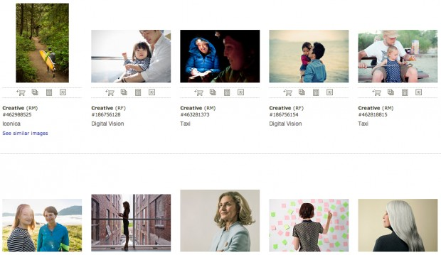 Images from the Lean in Collection with Getty Images.