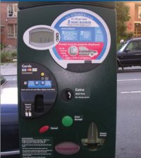 Some of Seattle's current parking meters are nearly 10 years old. Photo via City of Seattle.
