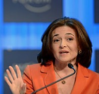 Sheryl Sandberg. Photo via Wikipedia