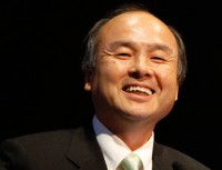Sprint Chairman Masayoshi Son.