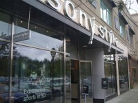 Sony to close 20 retail stores, including the one in University Village. (Credit: Yelp)