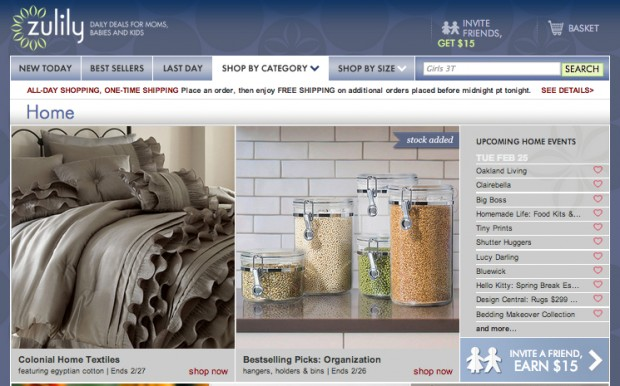 Zulily plans to start selling more home decor products