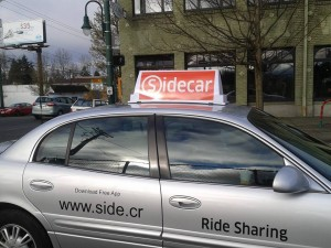A Sidecar vehicle in Tacoma. Photo courtesy of Erik Bjornson.