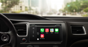 Apple's CarPlay interface