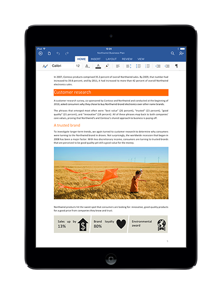 Office for iPad: Subscriptions, Dropbox and more tidbits