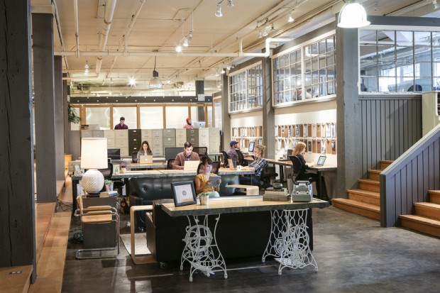 Women led co working space makers expanding in downtown for Furniture rental seattle