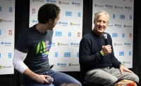 Free The Children co-founder Craig Kielburger and Seattle Seahawks head coach Pete Carroll answer questions before We Day 2014.