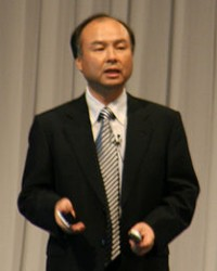 Masayoshi Son (Photo via Wikipedia)