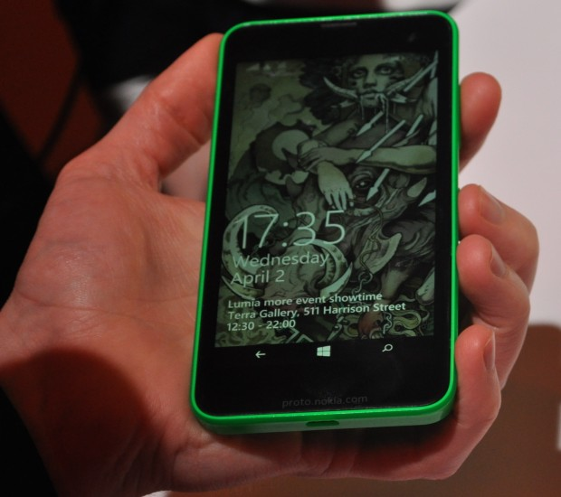 The Nokia Lumia 635