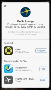 Expedia Apple Space banner