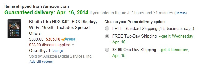 Amazon quietly launches Kindle Fire sale for Prime members, as price