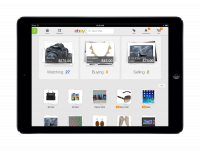 eBay's new iPad homescreen