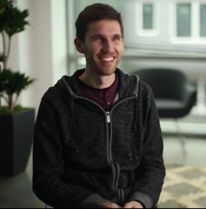 Kyle Kesterson, CEO of Seattle startup Freak'n Genius, was featured in Microsoft's new Kinect for Windows video.