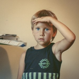 As a child, Kyle Kesterson moved 14 times. Photo via Kesterson.