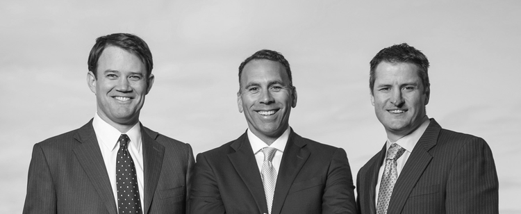 Privateer Holdings co-founders Michael Blue, Christian Groh and Brendan Kennedy.