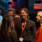 Networking at the GeekWire Awards