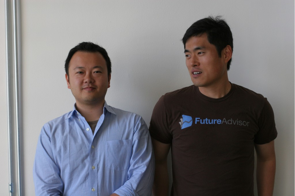 Jon Xu and Bo Lu of FutureAdvisor