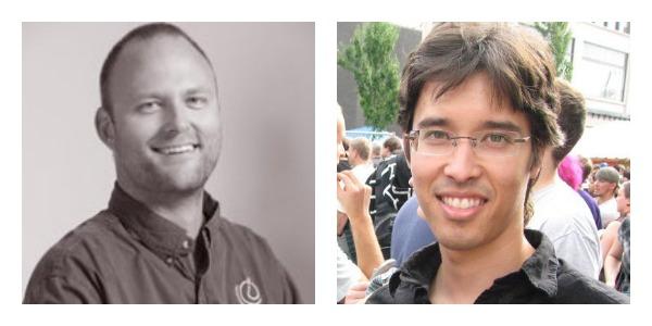 AnswerDash co-founders Jake Wobbrock and Andy Ko.