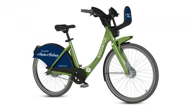 Alaska Airlines PRONTO Bike
