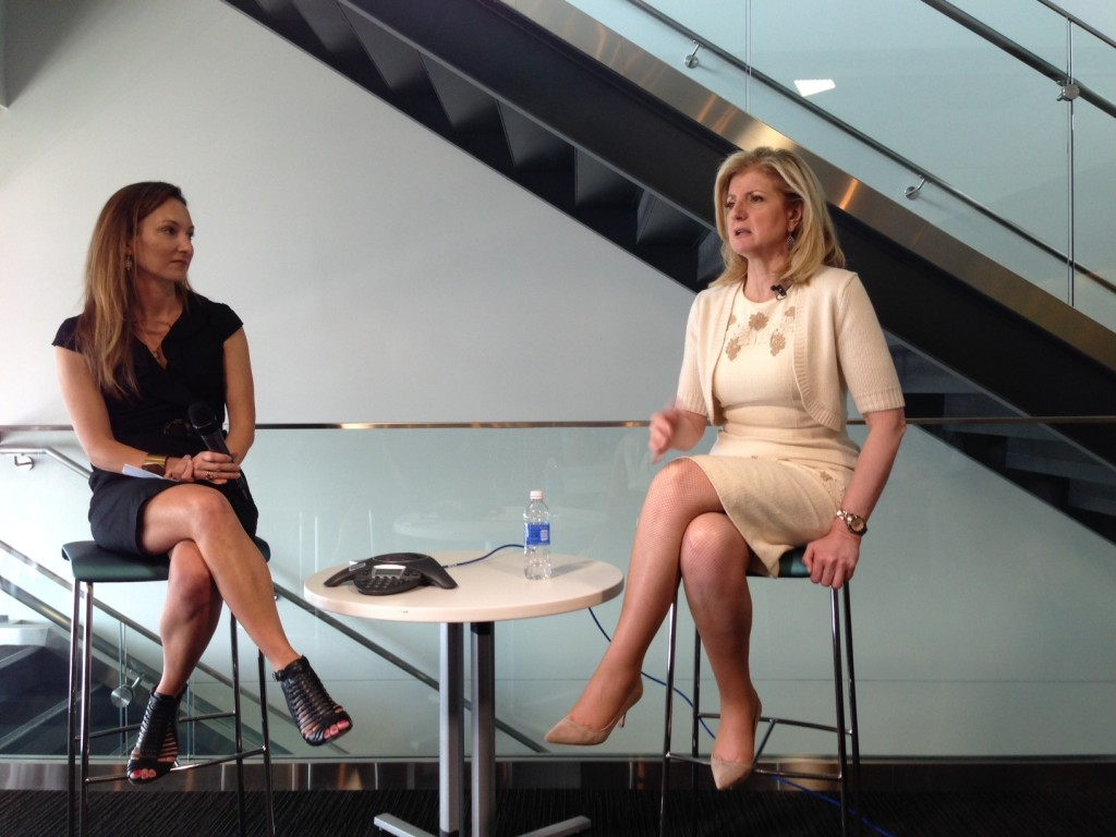 Zillow CMO Amy Bohutinsky interviews Arianna Huffington