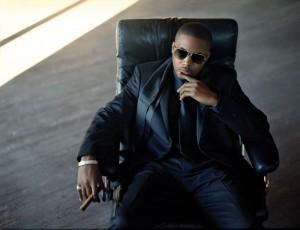 Hip hop icon Nas.