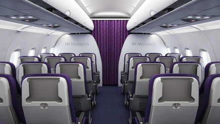 Photo via Monarch Airlines.