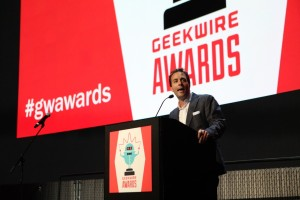 Spencer Rascoff at the GeekWire Awards