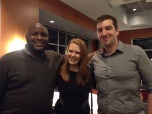 Stash co-founders Robert Lee Sanders, Katie Fraser and Chad Robischon.