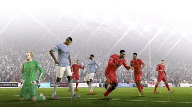 EA shows off FIFA 15, which adds a new emotional element to the game.
