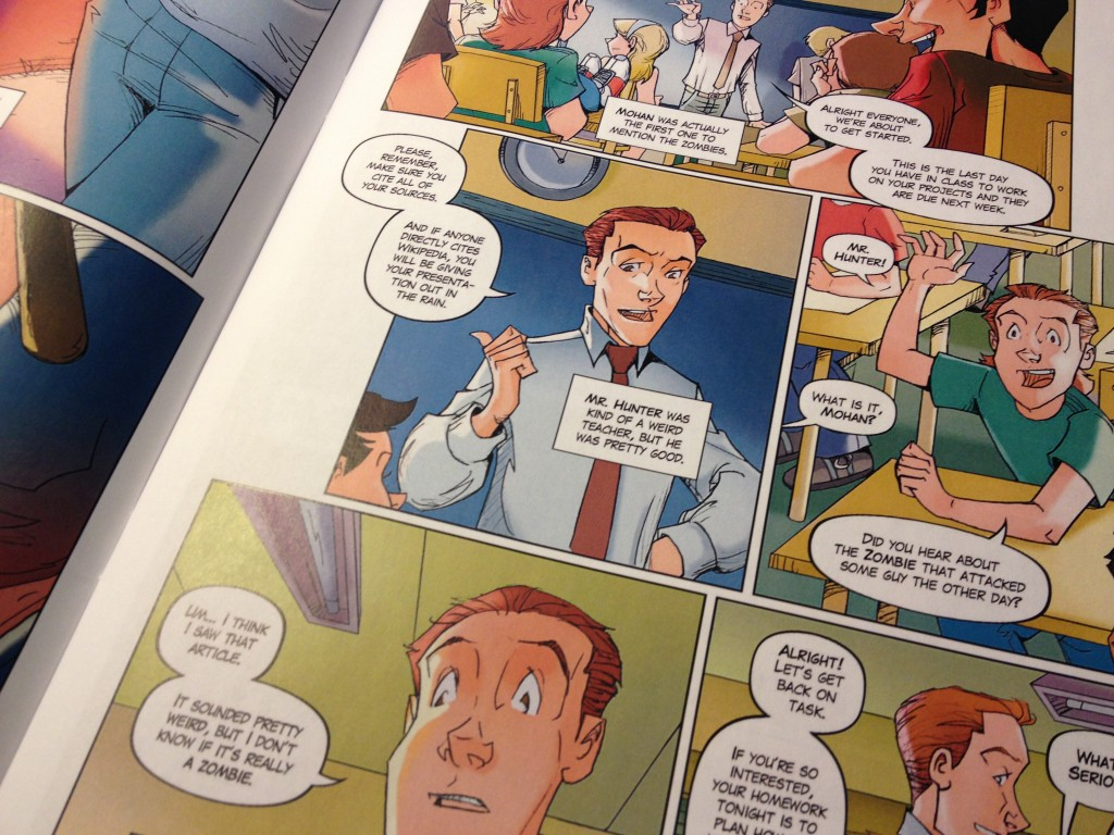 ZBL uses comics to help keep kids engaged with school.
