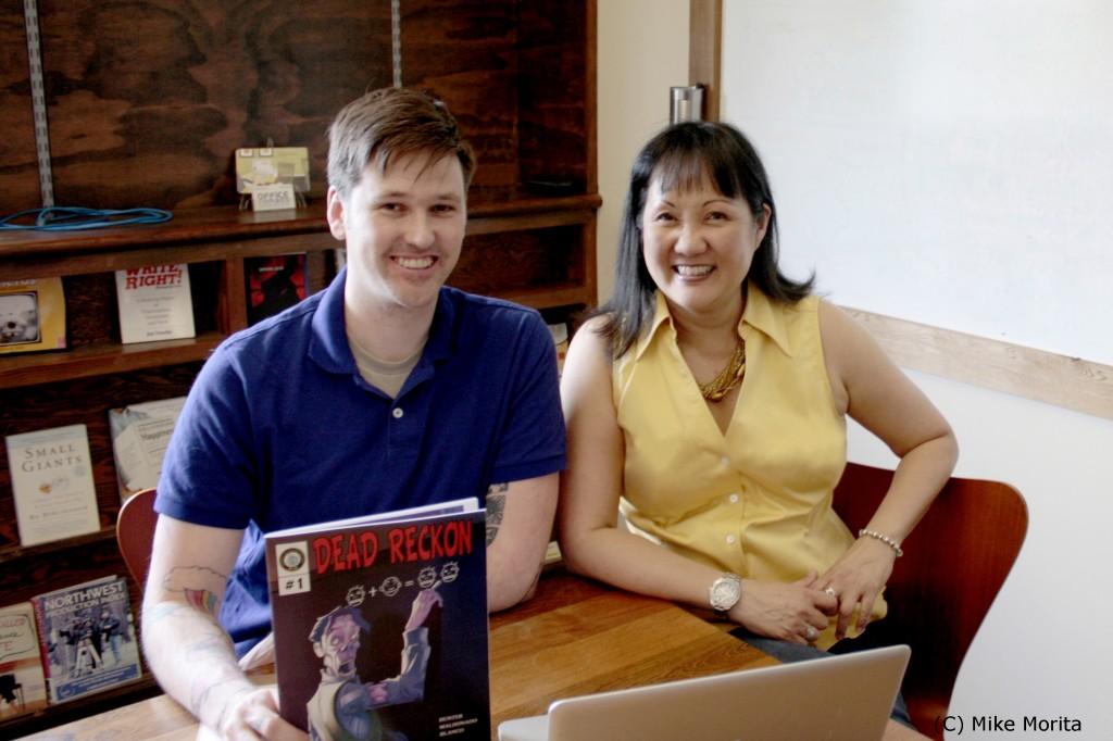 Zombie-Based Learning co-founders David Hunter and Kishari Sing. Photo via ZBL.