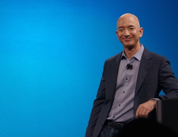 Amazon CEO Jeff Bezos. (GeekWire File Photo)