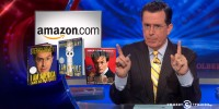 Colbert blasts Amazon