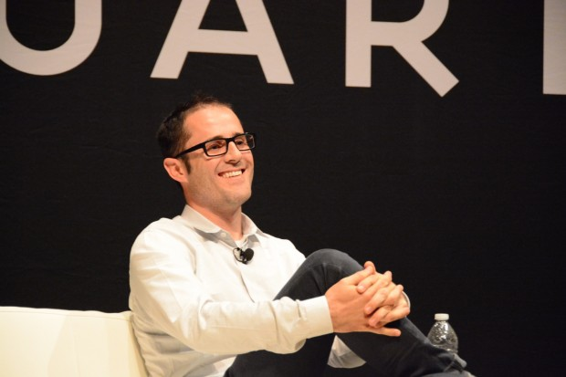 Twitter Co-Founder Evan Williams, who is now  focusing on a new publishing platform calle Medium. (Photo credit: Kevin Lisota)
