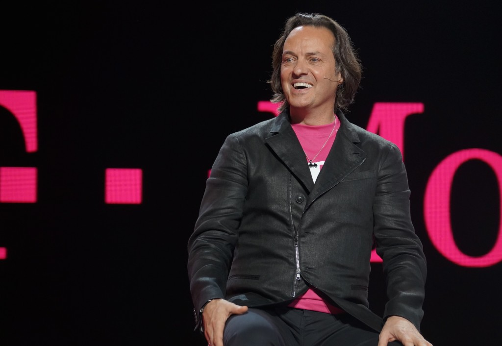 T-Mobile CEO John Legere. (GeekWire File Photo)