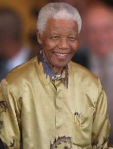 Nelson Mandela. Photo via Wikimedia Commons.