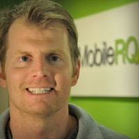 MobileRQ CEO and co-founder Tyler McKinley.