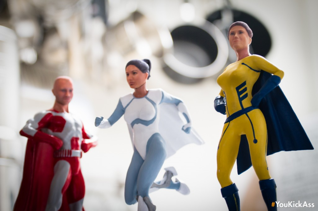 Want to be a superhero action figure? This startup is making it ...