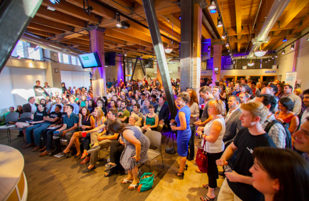 Coworking spaces like Seattle's Impact Hub build public thinking by default. (Image: Impact Hub)